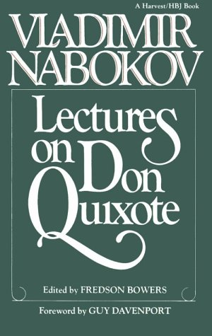 Lectures on Don Quixote   1984 edition cover