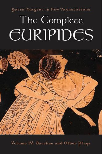 Complete Euripides Bacchae and Other Plays  2009 edition cover