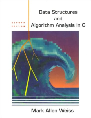 Date Structures and Algorithm Analysis in C  2nd 1997 (Revised) edition cover