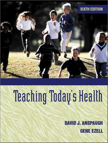 Teaching Today's Health  6th 2001 edition cover