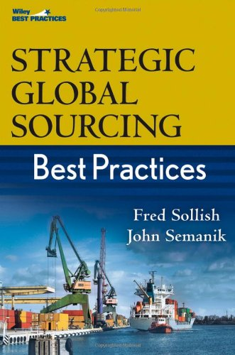 Strategic Global Sourcing Best Practices   2011 edition cover