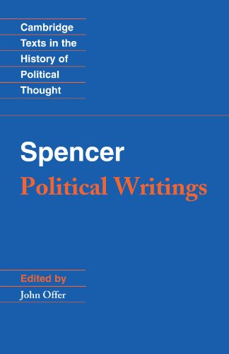 Spencer Political Writings  1994 edition cover