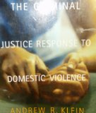 Criminal Justice Response to Domestic Violence   2004 edition cover