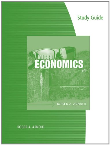 Microeconomics  10th 2011 (Guide (Pupil's)) edition cover