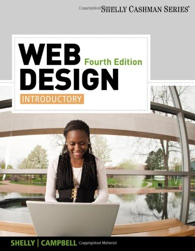 Web Design Introductory 4th 2012 9780538482400 Front Cover