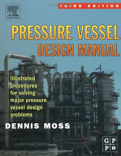 Pressure Vessel Design Manual  3rd 2003 (Revised) 9780750677400 Front Cover