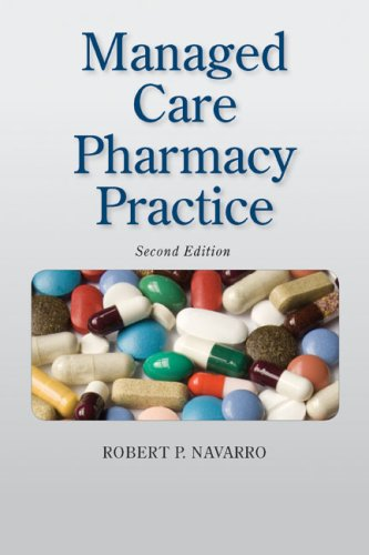 Managed Care Pharmacy Practice  2nd 2009 (Revised) edition cover
