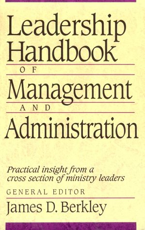 Leadership Handbook of Management and Administration  N/A edition cover