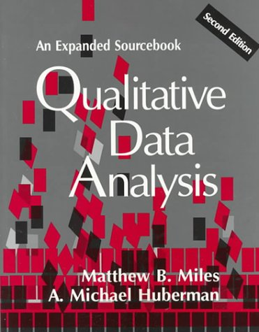 Qualitative Data Analysis An Expanded Sourcebook 2nd 1994 (Revised) edition cover