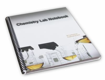 Lab Notebook Spiral Bound 50 Carbonless Pages (Copy Page Perforated)  2006 9780978534400 Front Cover