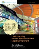 Cengage Advantage Books: Understanding Human Behavior and the Social Environment  9th 2013 edition cover