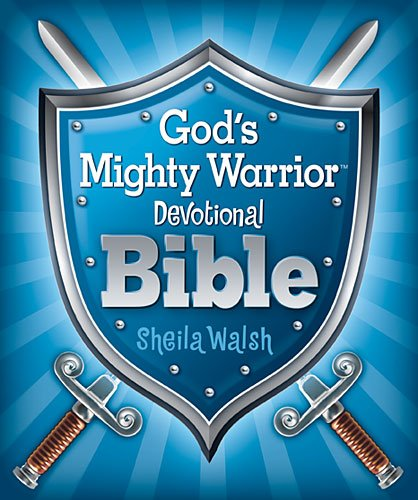 God's Mighty Warrior Devotional Bible   2012 9781400320400 Front Cover
