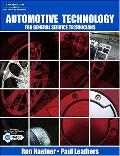 Automotive Technology For General Service Technicians  2008 edition cover