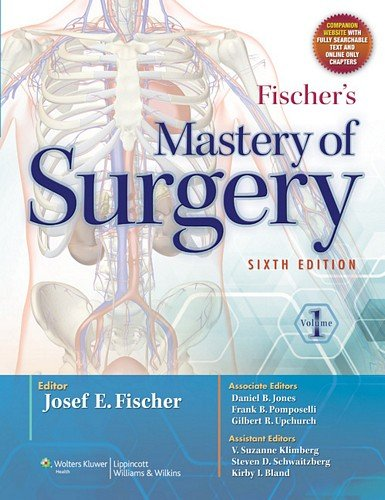Fischer's Mastery of Surgery  6th 2012 (Revised) edition cover