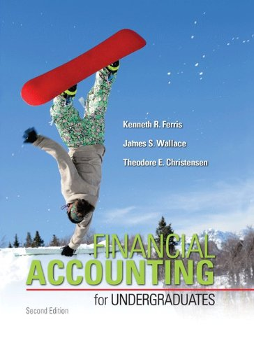 Financial Accounting for Undergraduates  2nd 2014 edition cover
