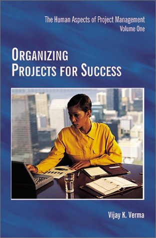 Organizing Projects for Success  N/A edition cover