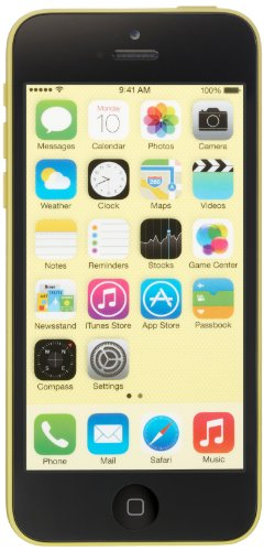 Apple iPhone 5c - 16GB - Yellow (Unlocked) product image