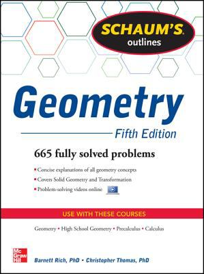 Geometry 665 Fully Solved Problems 5th 2013 (Revised) edition cover