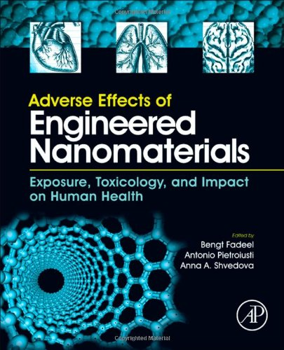 Adverse Effects of Engineered Nanomaterials Exposure, Toxicology, and Impact on Human Health  2012 edition cover