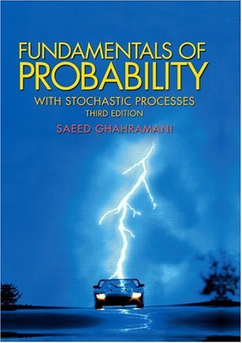 Fundamentals of Probability, with Stochastic Processes  3rd 2005 edition cover