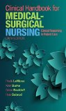 Clinical Handbook for Medical-Surgical Nursing Clinical Reasoning in Patient Care 6th 2016 edition cover
