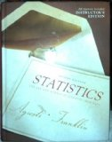 Statistics : The Art and Science of Learning from Data 2nd 2007 edition cover