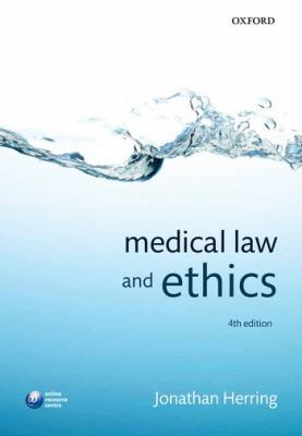 Medical Law and Ethics  4th 2012 edition cover