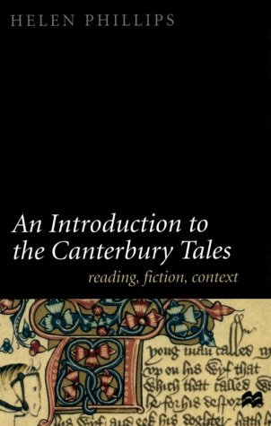 Introduction to the Canterbury Tales Fiction, Writing, Context  2000 (Revised) edition cover
