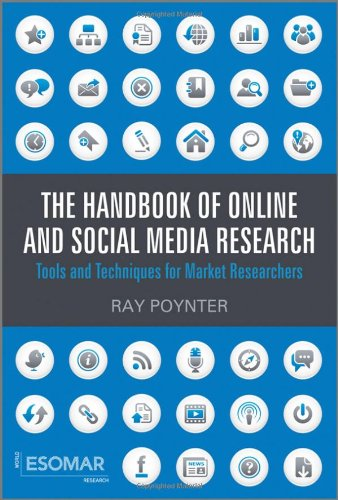 Handbook of Online and Social Media Research Tools and Techniques for Market Researchers  2010 (Handbook (Instructor's)) 9780470710401 Front Cover