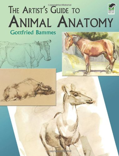 Artist's Guide to Animal Anatomy   2004 (Unabridged) edition cover