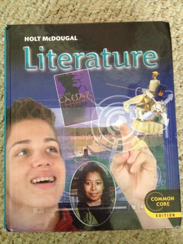 Holt Mcdougal Literature Student Edition Grade 10 2012  2011 9780547618401 Front Cover
