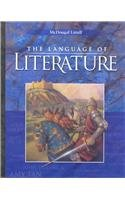 Language of Literature  Student Manual, Study Guide, etc.  9780618170401 Front Cover