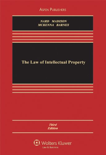 Law of Intellectual Property  3rd 2011 (Revised) edition cover