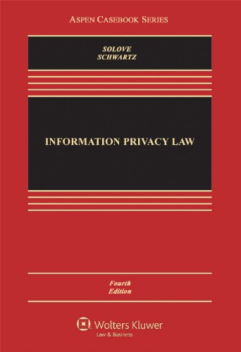 Information Privacy Law  4th 2011 (Revised) edition cover