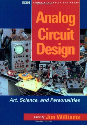 Analog Circuit Design Art, Science and Personalities  1991 9780750696401 Front Cover