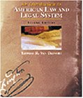 American Law and the Legal System Equal Justice under the Law 2nd 2000 (Revised) edition cover