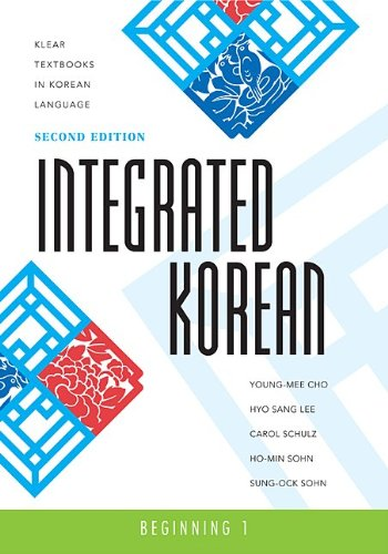 Integrated Korean Beginning 2nd 2009 9780824834401 Front Cover