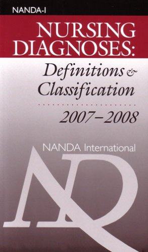 Nursing Diagnoses: Definitions & Classification, 2007-2008 1st 2007 9780978892401 Front Cover