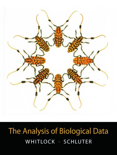 Analysis of Biological Data From Mind to Molecules  2009 edition cover