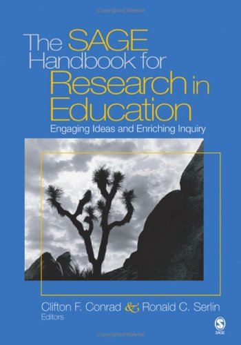 SAGE Handbook for Research in Education Engaging Ideas and Enriching Inquiry  2006 9781412906401 Front Cover