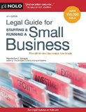 Legal Guide for Starting and Running a Small Business  14th 2015 edition cover