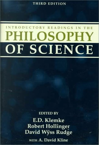 Introductory Readings in the Philosophy of Science  3rd 1998 (Revised) 9781573922401 Front Cover