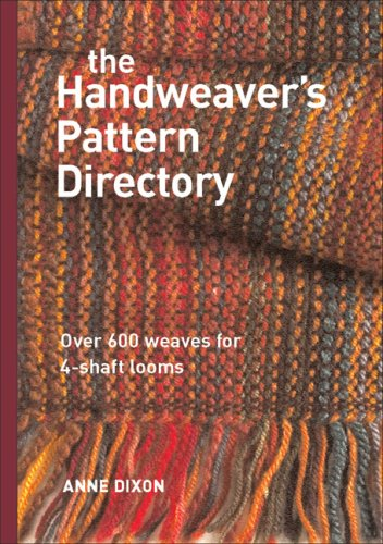 Handweaver's Pattern Directory Over 600 Weaves for 4-Shaft Looms  2007 edition cover