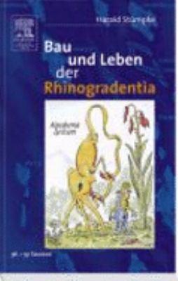 Bau und Leben der Rhinogradentia  3rd 1961 9783827418401 Front Cover