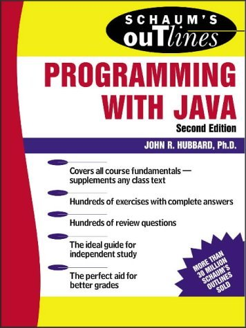 Schaum's Outline of Programming with Java  2nd 2004 (Revised) 9780071420402 Front Cover