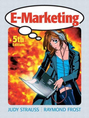 E-Marketing  5th 2009 edition cover