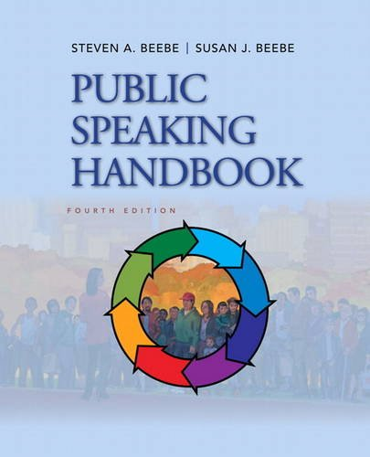 Public Speaking Handbook  4th 2013 (Revised) 9780205029402 Front Cover