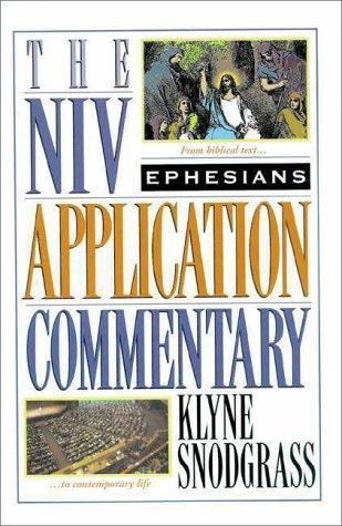 Ephesians   1996 edition cover