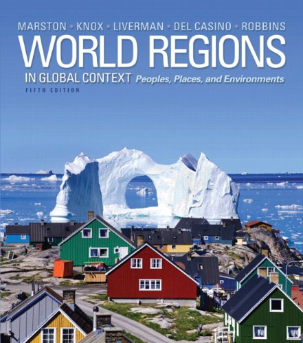 World Regions in Global Context Peoples, Places, and Environments, Books a la Carte Edition 5th 2014 edition cover