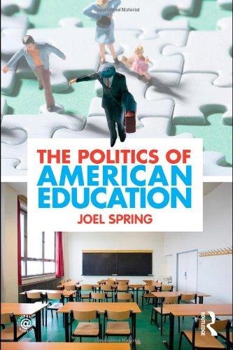 Politics of American Education   2011 edition cover